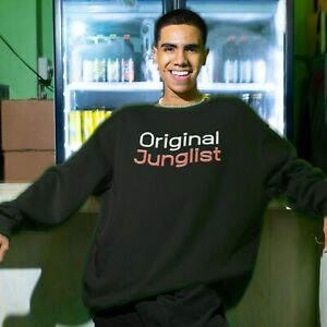 Original Junglist Sweatshirt   Drum & Bass   Junglist   DNB   Ravers