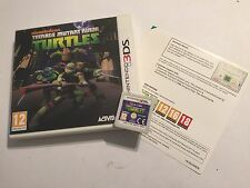 NINTENDO 2DS N2DS 3DS N3DS GAME TEENAGE MUTANT NINJA TURTLES TMNT +BOX PAL