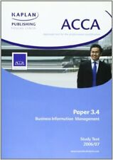 ACCA Paper 3.4 Business Information Management... by Kaplan Publishing Paperback