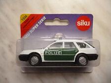 Siku 1356 Polizei Lautsprecherwagen (Audi A6 Avant) OVP