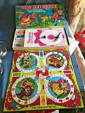 1981 New Zoo Review Board Game Complete w/ Instructions Henrietta Freddie Frog