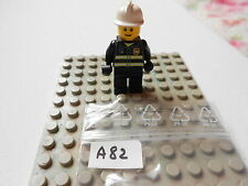 LEGO  VINTAGE  MINIFIG  OMINO   7240 Fire Station  fireman