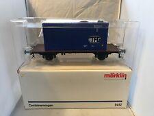 More details for marklin gauge 1 5412 ' tfg ' container wagon stunning original box bnib