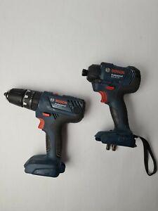 Bosch GSB18V-21/GDR18V-160 18v 2x2.0Ah Li-ion Professional Impact Driver & Drill