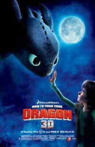 HOW TO TRAIN YOUR DRAGON 11x17 Movie Poster - Licensed | New | USA |  [I]