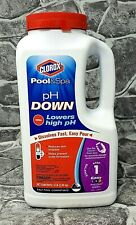 Clorox Pool & Spa pH Down 5-Pound Bottle 10005Clx - New! Free Shipping!