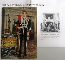 Henry Thynne Marquess of Bath Autogramm Autograph auf signierter Postkarte