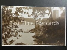 c1928 RPPC - Castle and St. Petrox Church, Dartmouth - Judges Ltd