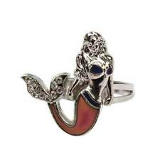 Fashion Mermaid Mood Ring Emotion Feeling Color Changing Adjustable Ring new