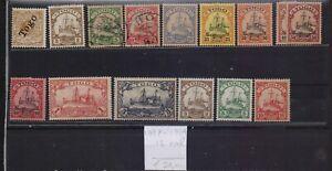 ! Togo 1897-1914. Lot Of 15 Stamp. YT#. €50.00!