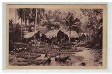 TONKIN INDOCHINE VIETNAM SAIGON #18591 VILLAGE TONKINOIS