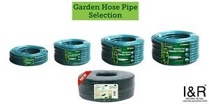 "Garden Hose Pipe Reel Rolls1/2"" Hosepipe Reinforced Water Watering Pipes"
