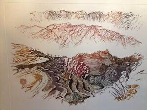 Road to Hajja by Rosalind White rare large etching 15 /90