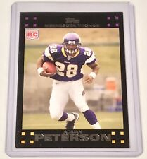 2007 ADRIAN PETERSON TOPPS RC ROOKIE CARD #301 MINNESOTA VIKINGS (UNGRADED)
