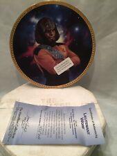 Hamilton Collection Plate Lieutenant Worf