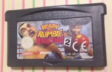 Ready 2 Rumble Boxing: ROUND 2 Nintendo GameBoy Advance GIOCO CARTUCCIA