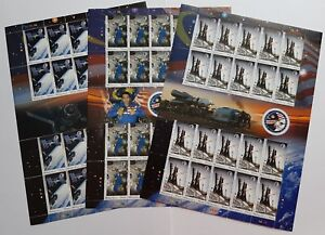 2008 Malaysia Space Rocket Astronaut Angkasawan 60v Stamps complete 3 Full Panes