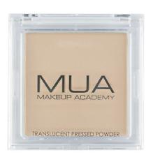 MUA MAKEUP TRANSLUCENT PRESSED Foundation Setting Face POWDER Vit E Neutral Nude