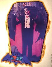 70s Love At First Bite George Hamilton Dracula monster movie VTG T-shirt iron-on