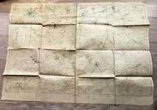 25- CARTE ANCIENNE GUERRE - CANEVAS DE TIR N°459 - NOYON (OISE) - 19 MARS 1917