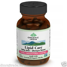Lipidcare 120 Veg capsule By ORGANIC INDIA Natural Total Cholesterol Control