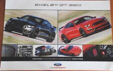 2017 FORD MUSTANG SHELBY GT350 FORD PERFORMANCE 24 X 36 DEALER POSTER