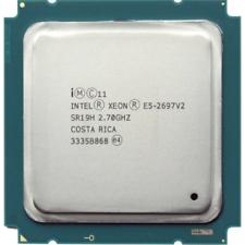 Intel Xeon E5-2697 V2 2.7GHz 12 Core 30M LGA2011 130W Cpu Processador SR19H