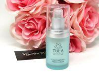 Tula Probiotic Skincare Illuminating Face Serum  0.5 oz. Travel Size, New