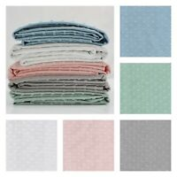 Minkee Dimple Soft Cotton Jersey - Dressmaking Fabric Knitted Nursery