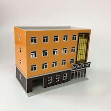 1:144 N Scale Homestay Hotel Outland Building Model 4 Story Homestay Hotel Model