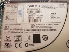 IBM 00AJ162 400Gb 6GBPS SAS SSD G3 H/S HHD