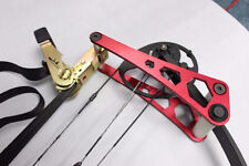 Compound Bow Press Red Aluminum Archery Accessories for Adjusting Compound Bow