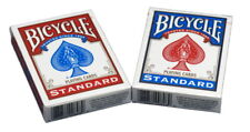 2 Decks of Bicycle Playing Cards Standard Face, 1 Red & 1 Blue, New & Sealed