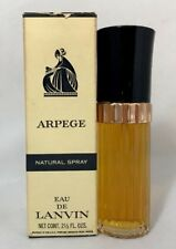 Vintage Rare Arpege Eau De Lanvin Natural Spray  2.1/2 OZ  New In Box HTF!!