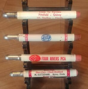 8 Bullet Pencils of Various Places