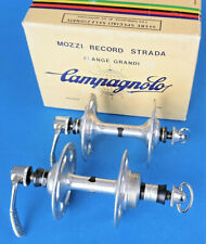 Vintage Campagnolo Record Strada Hubset,  24h High Flange, NEW