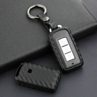 Fiber CAR Key Holder Accessories For Mitsubishi ASX Outlander Lancer RVR 1X YGA