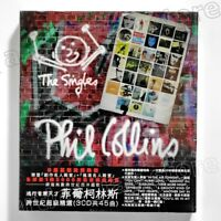 Phil Collins The Singles Taiwan 3 CD BOX Grestest Hits Best Two Hearts 2016 NEW