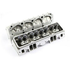 Complete Aluminum Cylinder Heads Sbc Chevy 350 190cc 64cc 2.02/1.60 - Angle