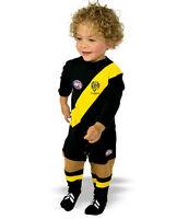 AFL Toddler Baby Richmond Tigers Footysuit Jumpsuit Unisex