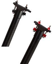Hylix Carbon Seatpost-31.8mm*590MM-268g-Ultra Light-Fit Brompton Folding Bike