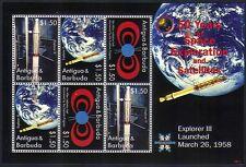 Antigua 2008 espacio/cohetes satélites// Explorer III/Van Allen/Tierra 6v m/s n33392