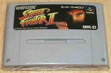 Super Famicom: street Fighter 2