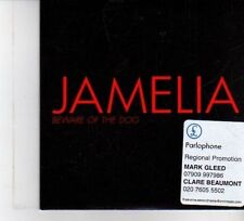 (DW510) Jamelia, Beware Of The Dog - 2006 DJ CD