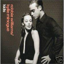 Robbie Williams Kylie Minogue Kids w/ UNRELEASED TRK & VIDEO CD single SEALED