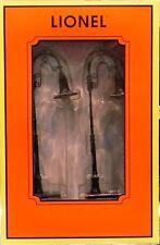 NIB O Lionel 6-37172 Gooseneck Street Lamp 2 Pk