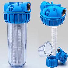 VORFILTER WASSERFILTER 1'' - 5000 L/h  PUMPENFILTER FILTER PUMPEN HAUSWASSERWERK