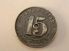 Germany  NOTGELD 15 pfennig 1918 Coin - MUNCHEN -  (5128)