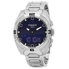 Tissot Men's T Touch Expert Blue Dial Titanium Swiss Quartz Watch T0914204404100