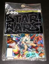 1977 MARVEL COMIC 3-PACK SET, STAR WARS #1, 2, 3, SEALED IN ORIGINAL BAG, MIP!